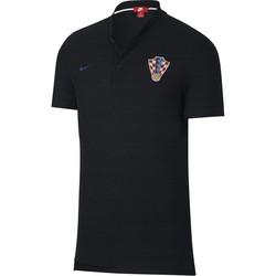 Polo Croatie noir 2018