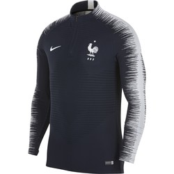 Sweat zippé Equipe de France VaporKnit bleu 2018