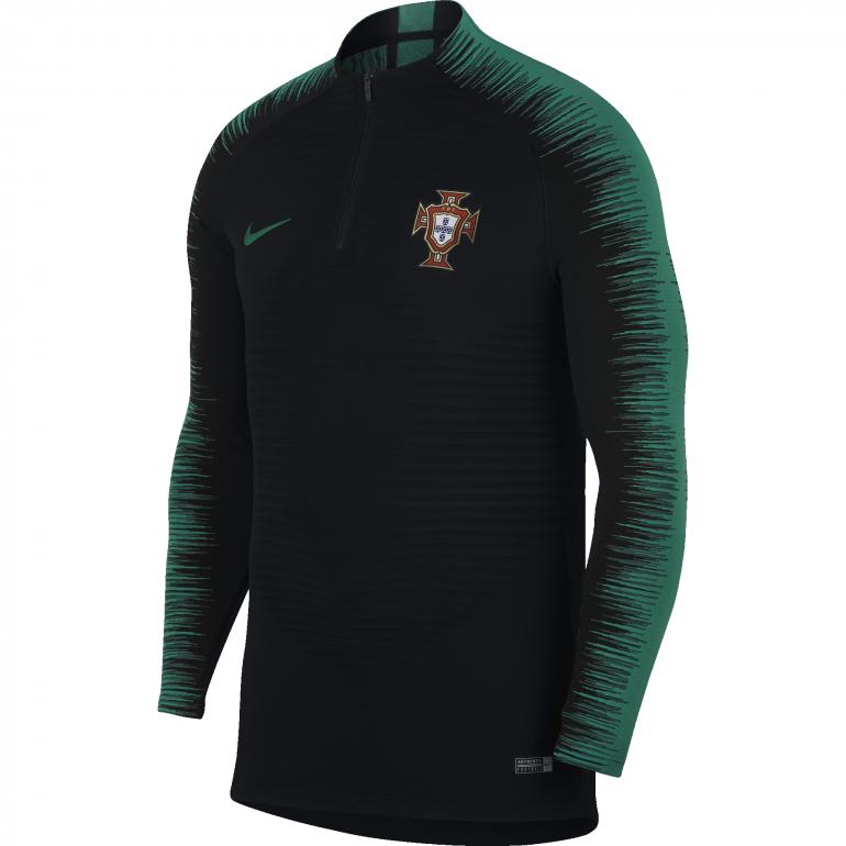 Sweat zippé Portugal VaporKnit noir 2018