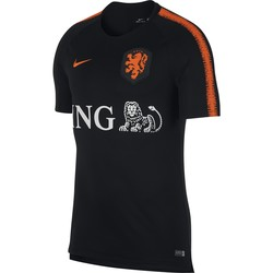 Maillot entraînement Pays Bas noir 2018