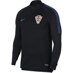Sweat zippé Croatie noir 2018