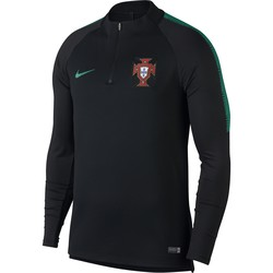Sweat zippé Portugal noir 2018