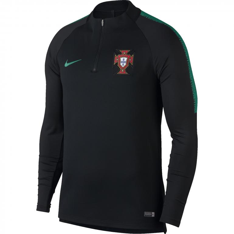 Sweat zippé Portugal noir 2018