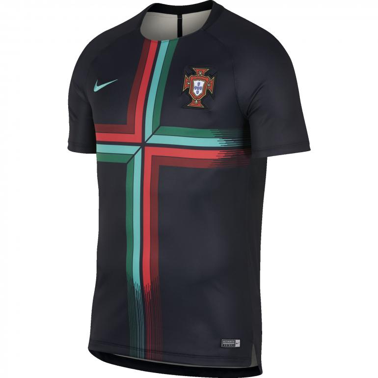 Maillot entraînement Portugal noir 2018