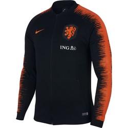 Veste survêtement Pays Bas noir 2018