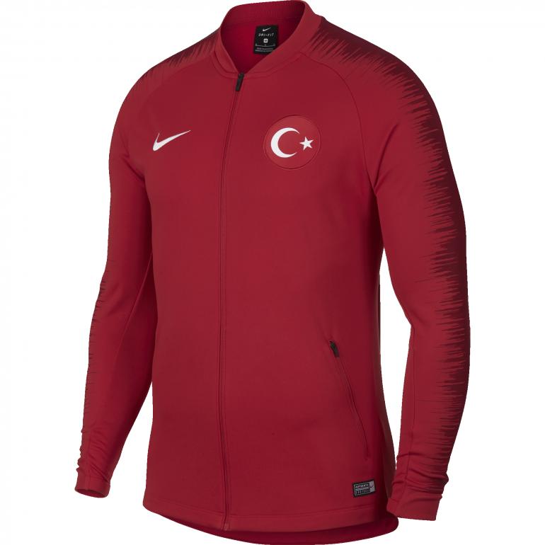Veste survêtement Turquie rouge 2018