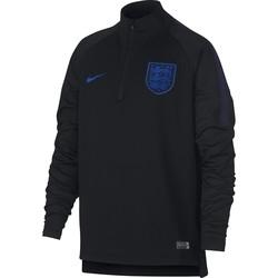 Sweat zippé junior Angleterre noir 2018