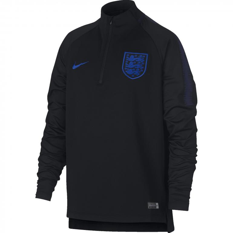 49879ea5a83fb Sweat zippé junior Angleterre noir 2018 sur Foot.fr
