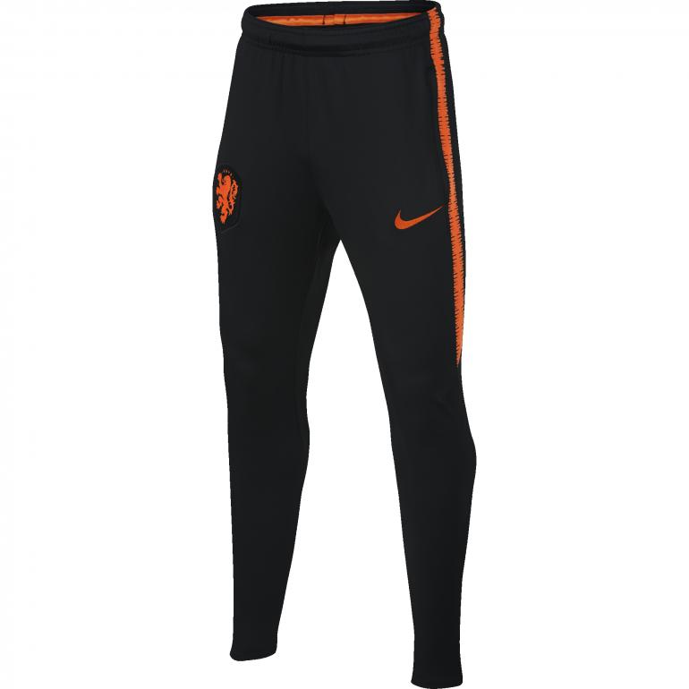 Pantalon survêtement junior Pays Bas noir 2018