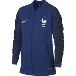 Veste survêtement junior Equipe de France bleu 2018