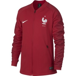 Veste survêtement junior Equipe de France rouge 2018