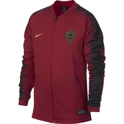 Veste survêtement junior Portugal rouge noir 2018