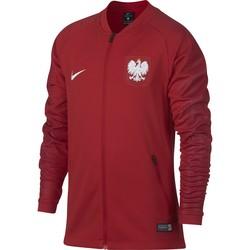 Veste survêtement junior Pologne rouge 2018