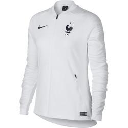 Veste survêtement Femme Equipe de France blanc 2018