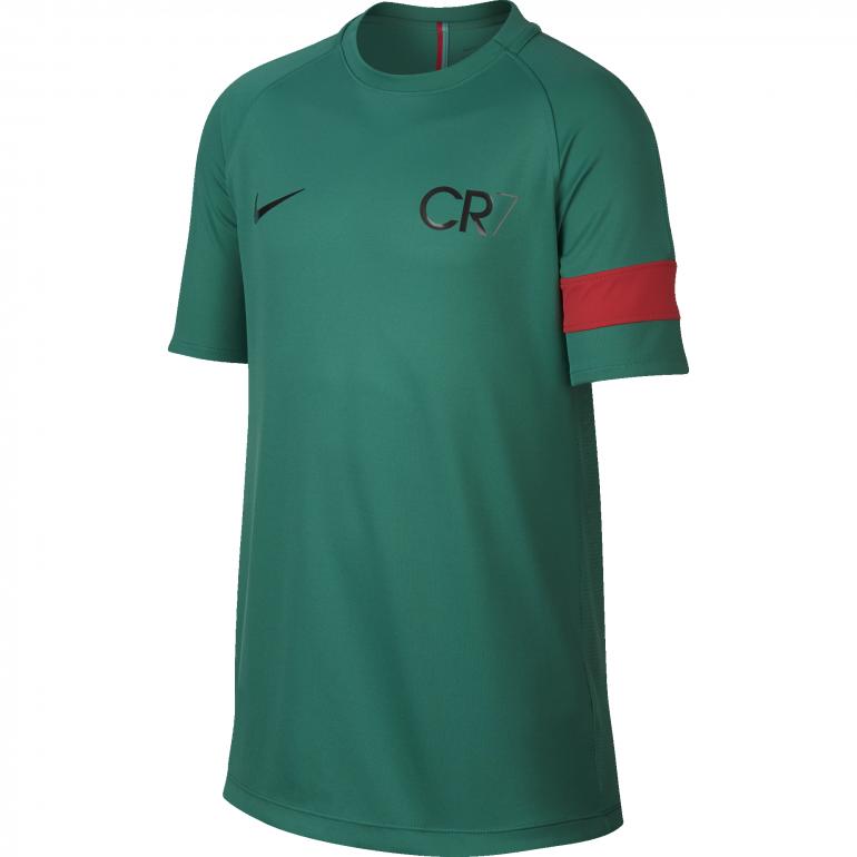 Maillot entraînement junior CR7 vert 2017/18