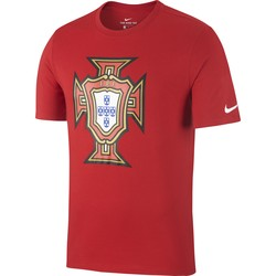 T-shirt Portugal rouge 2018