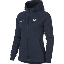 Veste à capuche Femme Equipe de France Tech Fleece bleu 2018