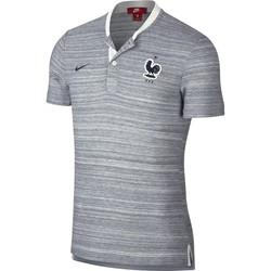 Polo Equipe de France gris 2018