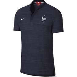 Polo Equipe de France bleu foncé 2018