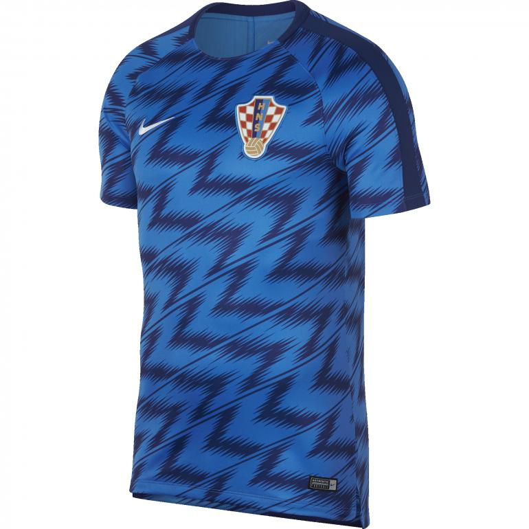Maillot entraînement Croatie bleu 2018