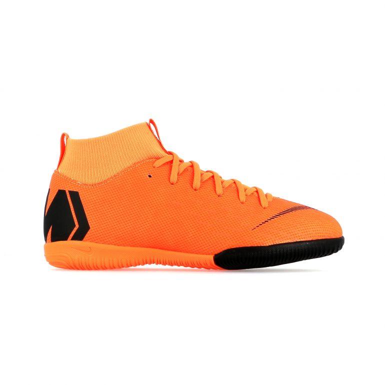 Mercurial SuperflyX VI junior Academy montantes indoor orange