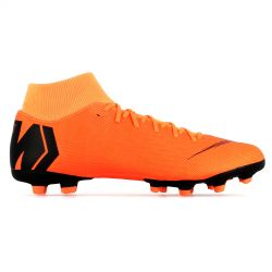 Mercurial Superfly VI Academy montantes FG/MG orange
