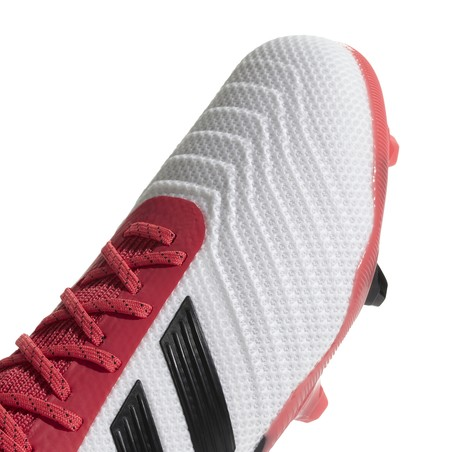 PREDATOR 18.1 junior FG rouge blanc