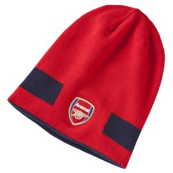 Bonnet réversible Arsenal rouge