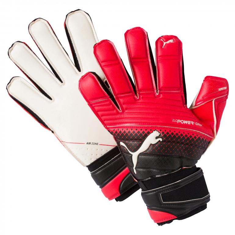 Gants Evogrip 1.3 rouge et blanc Gardien