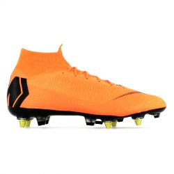 Mercurial Superfly VI Elite Anti-Clog SG-Pro orange
