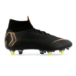 Mercurial Superfly VI Elite Anti-Clog SG-Pro noir