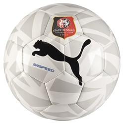 Ballon Stade Rennais blanc et gris