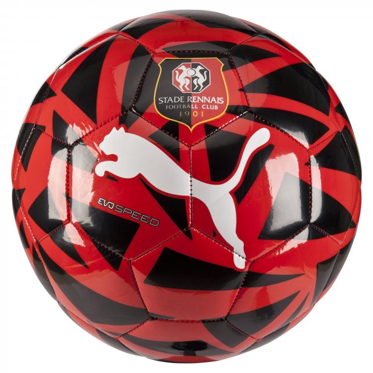 Ballon Stade Rennais rouge et noir