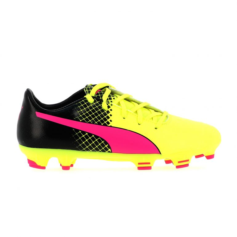 Evopower 1.3 junior FG jaune rose