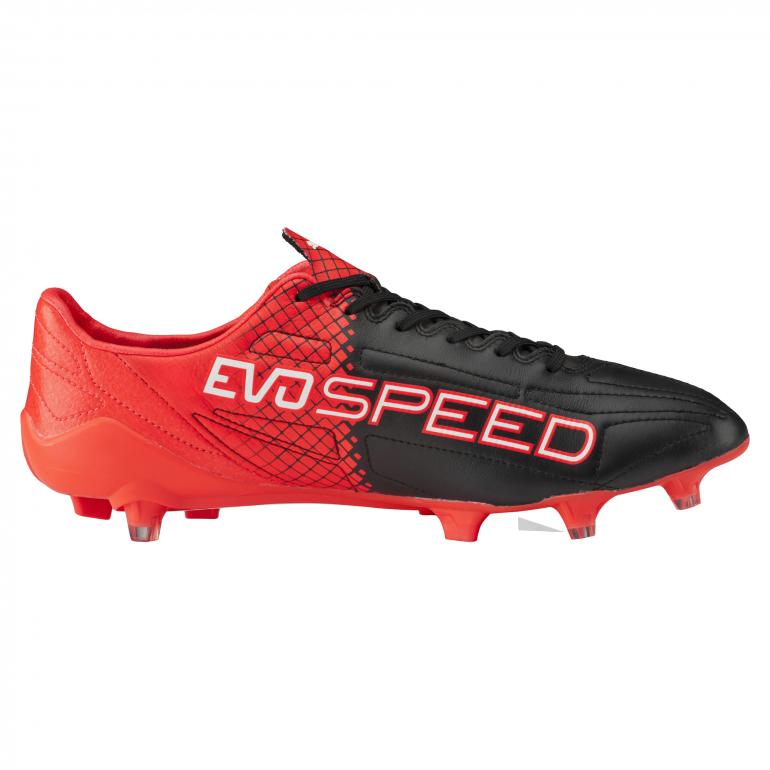 Evospeed SL II cuir rouge et noir