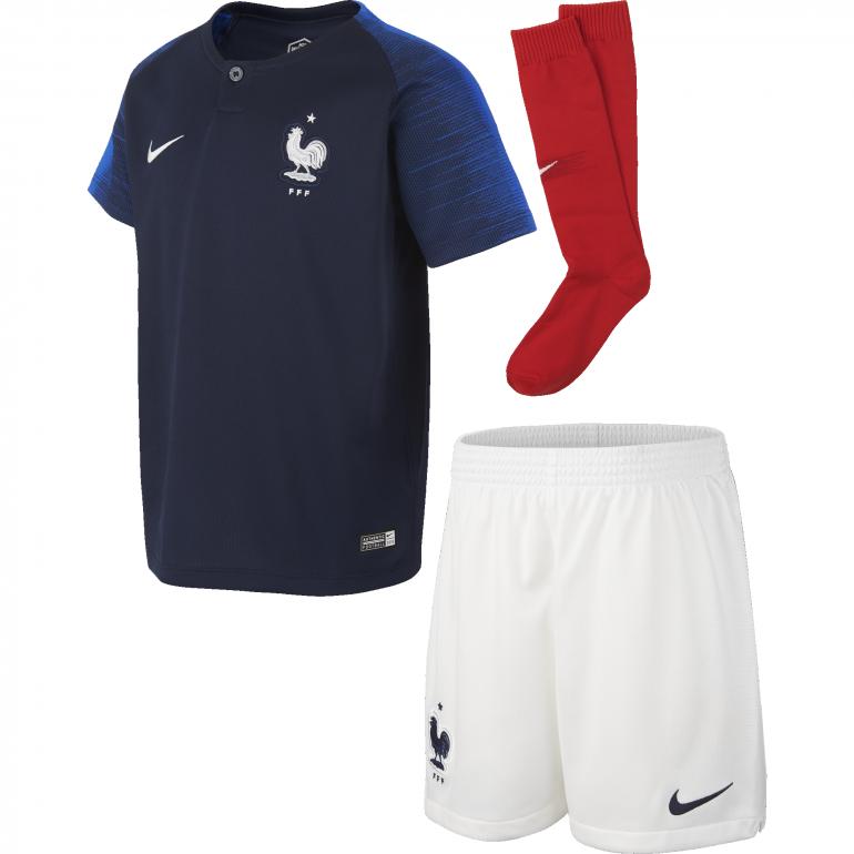 Tenue enfant Equipe de France domicile 2018