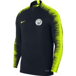 Sweat zippé Manchester City VaporKnit noir jaune 2018/19