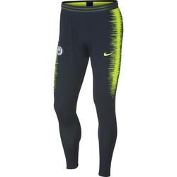 Pantalon survêtement Manchester City VaporKnit noir jaune 2018/19