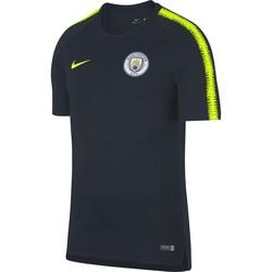 Maillot entraînement Manchester City noir jaune 2018/19