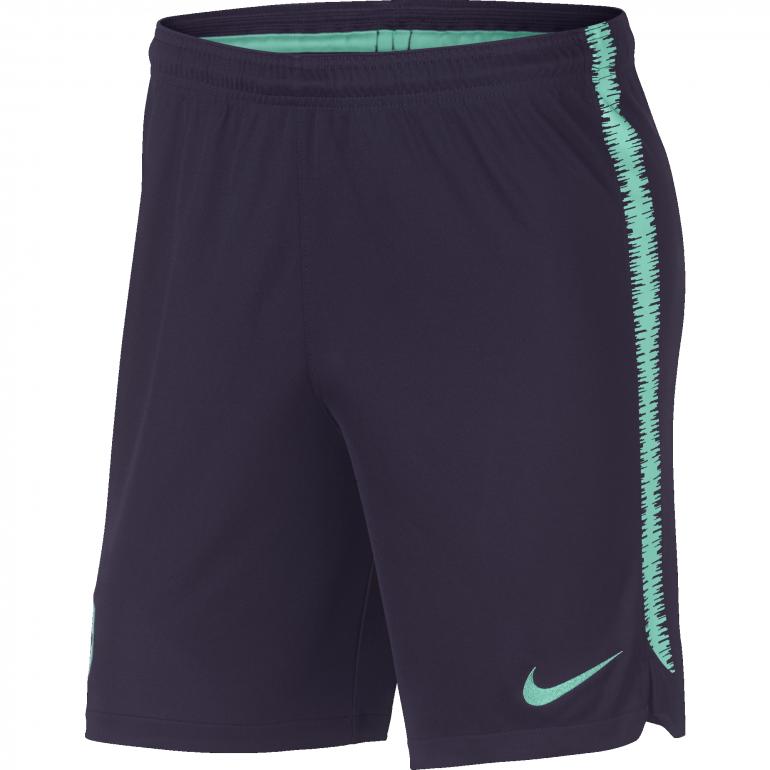 Short entraînement FC Barcelone bleu vert 2018/19