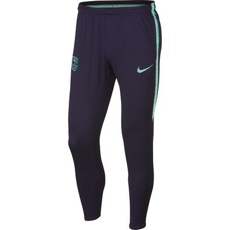 Pantalon survêtement FC Barcelone noir vert 2018/19