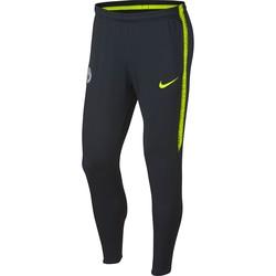 Pantalon survêtement Manchester City noir jaune 2018/19