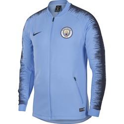 Veste survêtement Manchester City bleu 2018/19