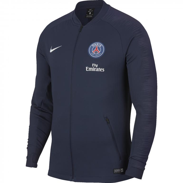 Veste survêtement PSG bleu foncé 2018/19
