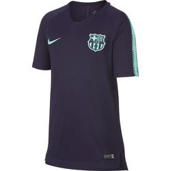 Maillot entraînement junior FC Barcelone noir vert 2018/19