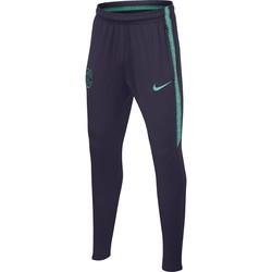 Pantalon survêtement junior FC Barcelone noir vert 2018/19