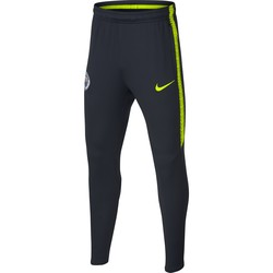Pantalon survêtement junior Manchester City noir jaune 2018/19