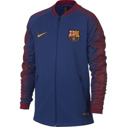 Veste survêtement junior FC Barcelone bleu rouge 2018/19