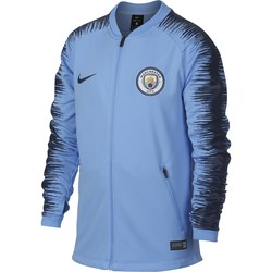 Veste survêtement junior Manchester City bleu 2018/19