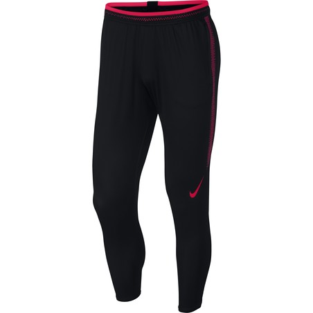 Pantalon survêtement Nike Strike Flex noir rose 2018/19
